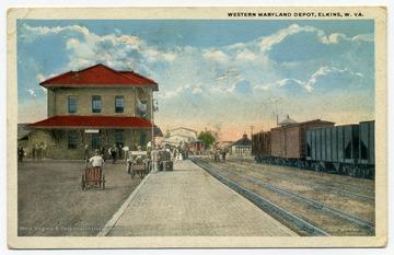 Western Maryland Depot, Elkins, W. Va.